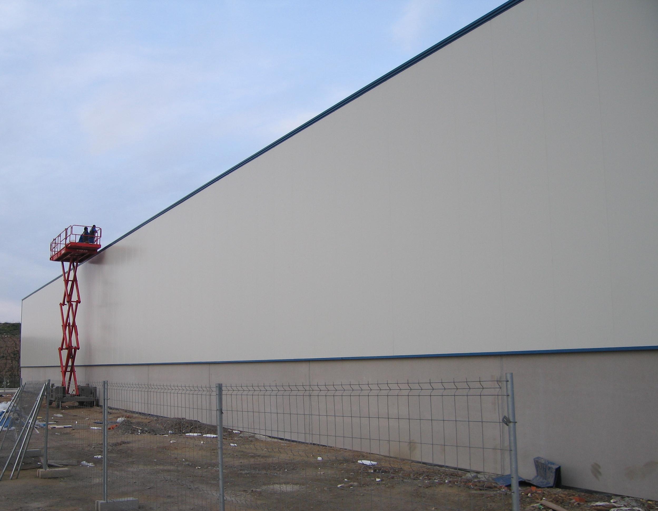 El aislamiento en las construcciones industriales tekton for Construcciones industriales