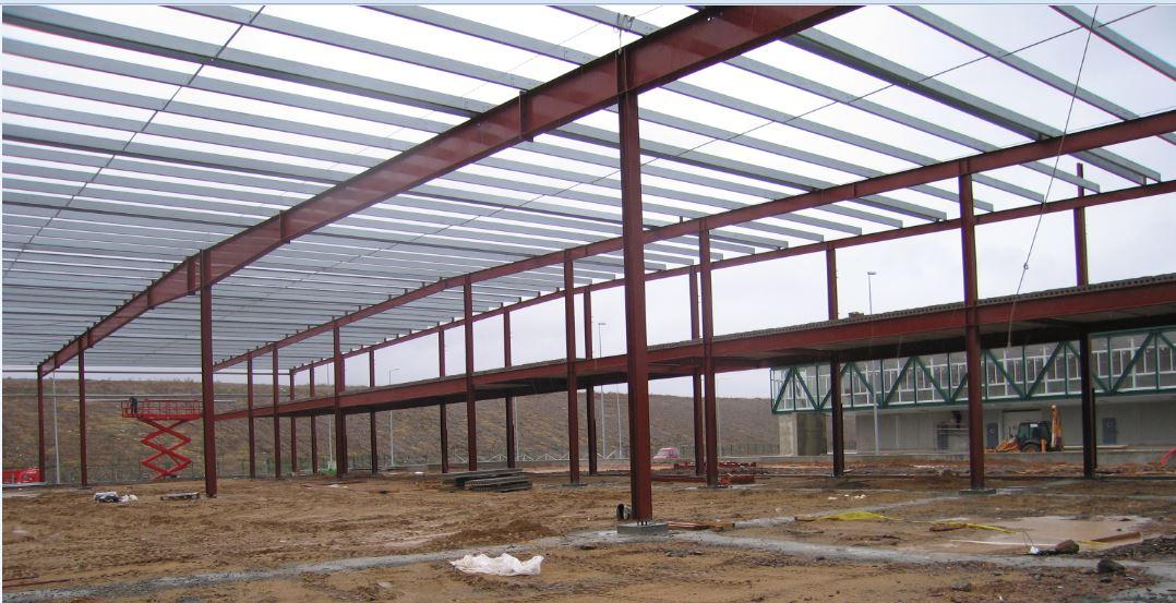 Beneficios delas estructuras met licas tekton for Cobertizos prefabricados metalicos