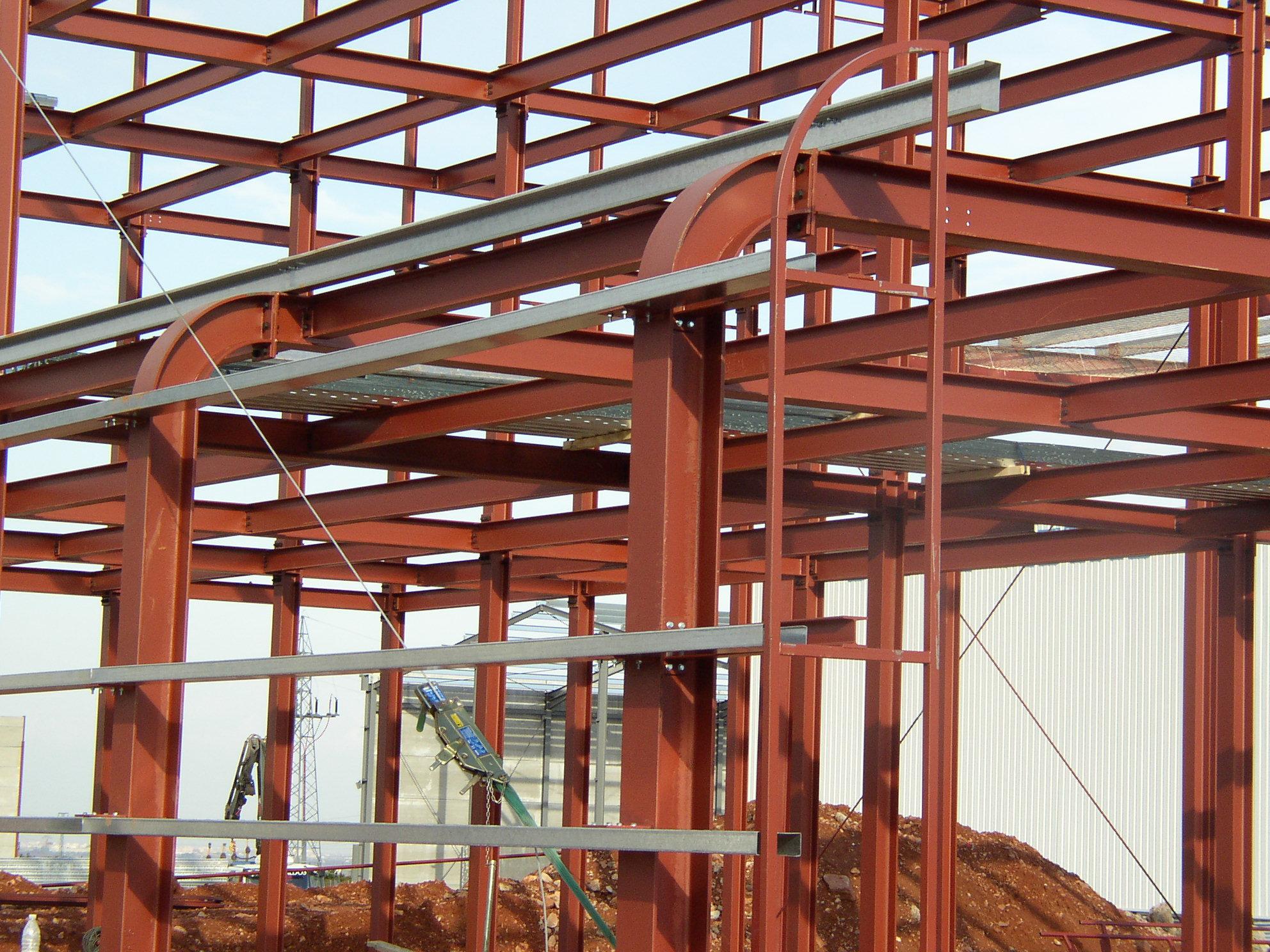 Estructuras met licas con marcado ce tekton - Fotos de construcciones metalicas ...