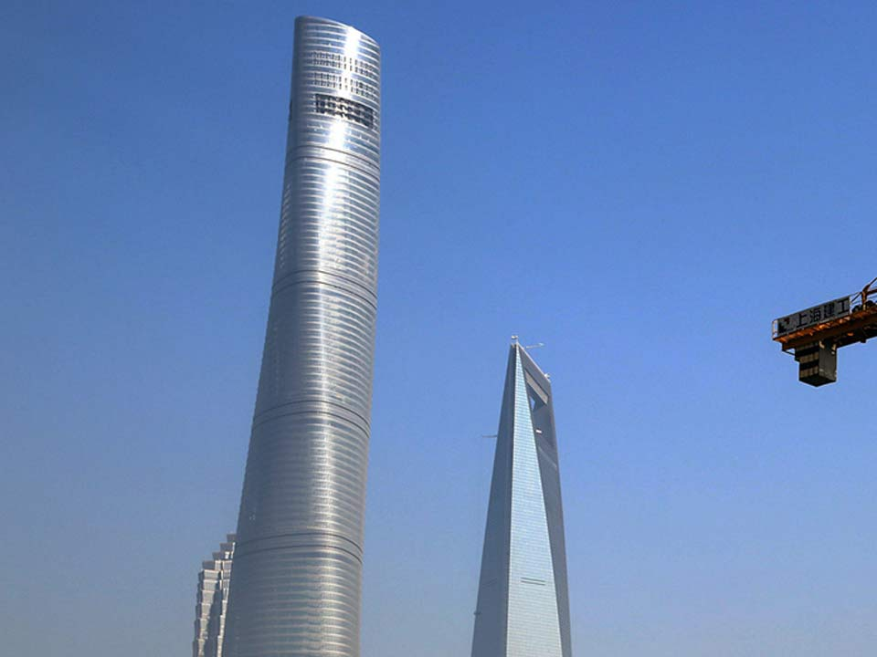 Tekton - Construcciones en acero singulares: la Shanghai Tower